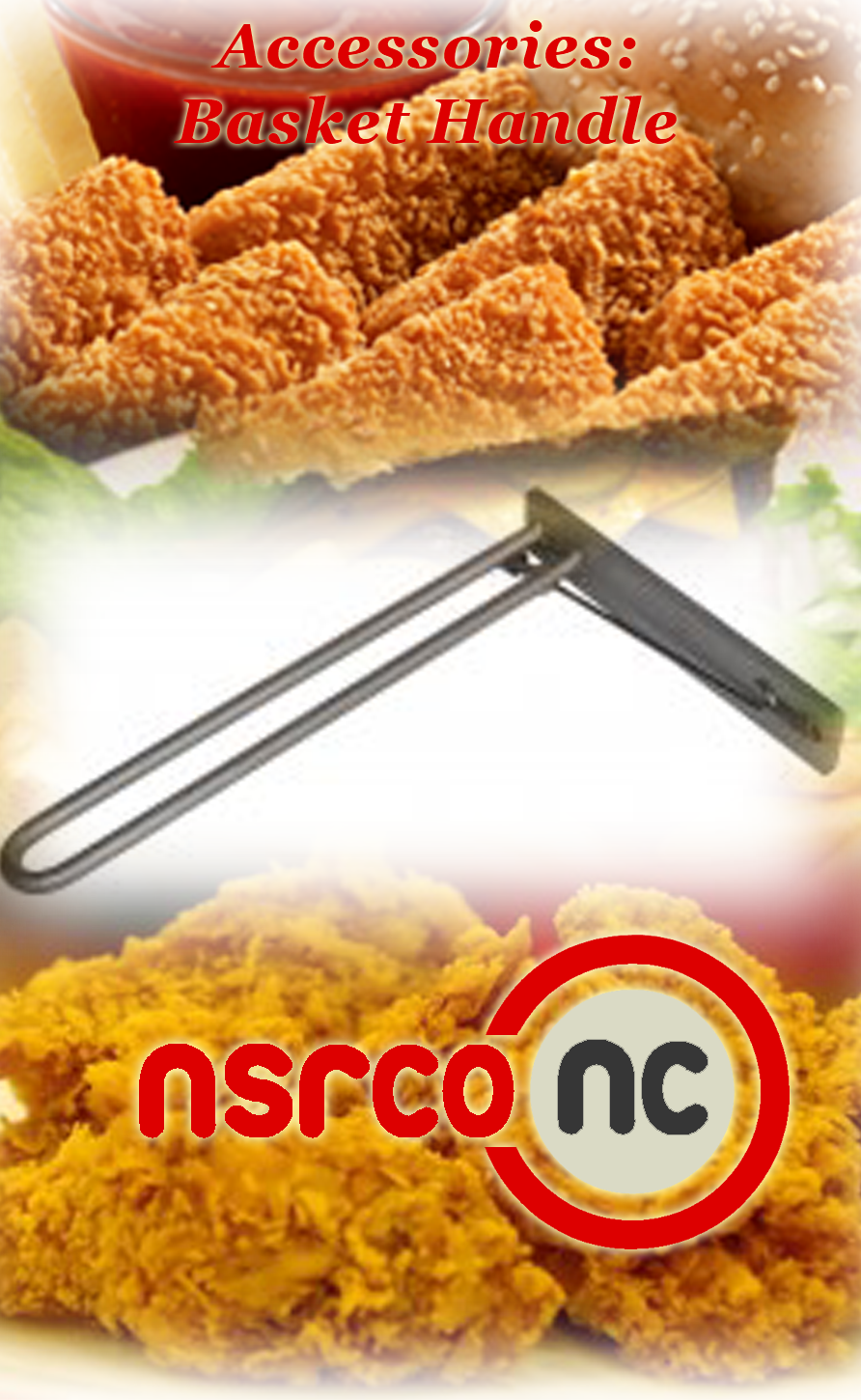 prssr fryer 1800 basket handle